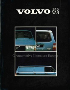 1979 VOLVO 245 BROCHURE DUTCH