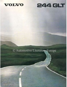 1980 VOLVO 244 GLT BROCHURE DUTCH