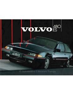 1986 VOLVO 480 ES PROSPEKT ENGLISCH