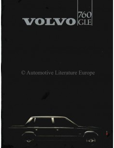 1983 VOLVO 760 GLE BROCHURE DUTCH