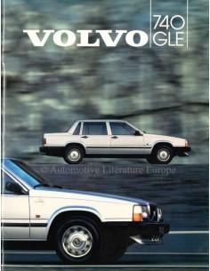 1984 VOLVO 740 GLE PROSPEKT NIEDERLÄNDISCH