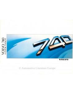 1988 VOLVO 740 6-DOOR VERSION PROSPEKT ENGLISCH
