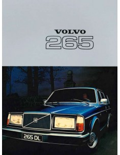 1977 VOLVO 265 BROCHURE DUTCH