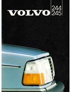1982 VOLVO 244 245 BROCHURE DUTCH