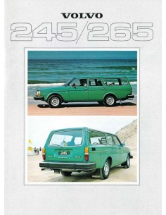 1979 VOLVO 245 265 BROCHURE DUTCH