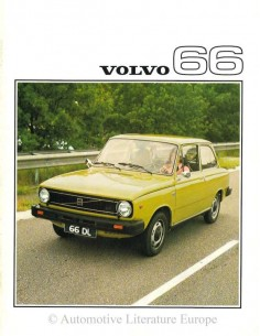 1976 VOLVO 66 BROCHURE NORWEGIAN