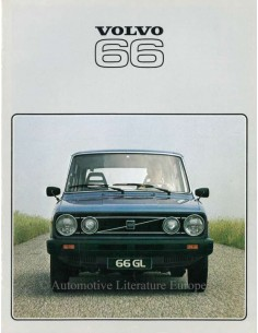 1978 VOLVO 66 BROCHURE GERMAN