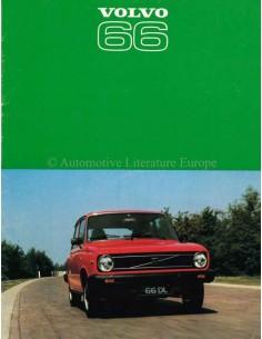 1977 VOLVO 66 PROSPEKT DEUTSCH