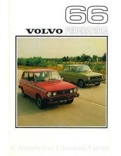 1976 VOLVO 66 PROGRAMM PROSPEKT NIEDERLÄNDISCH