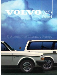 1984 VOLVO 240 BROCHURE DUTCH