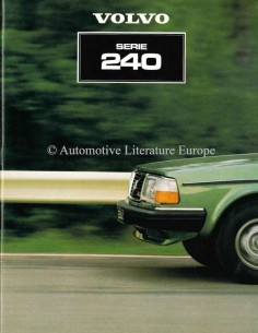 1981 VOLVO 240 SERIES BROCHURE DUTCH