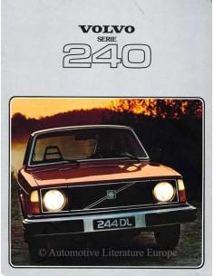 1978 VOLVO 240 SERIE PROSPEKT NIEDERLÄNDISCH
