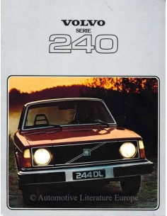 1978 VOLVO 240 SERIES BROCHURE DUTCH