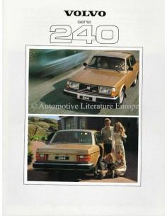 1979 VOLVO 240 SERIE PROSPEKT NIEDERLÄNDISCH