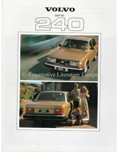 1979 VOLVO 240 SERIES BROCHURE DUTCH
