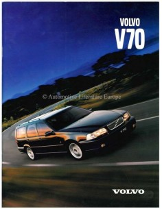 1999 VOLVO V70 BROCHURE DEENS