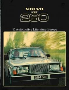 1978 VOLVO 260 SERIE PROSPEKT NIEDERLÄNDISCH