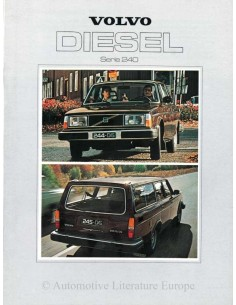 1979 VOLVO 240 DIESEL BROCHURE DUTCH