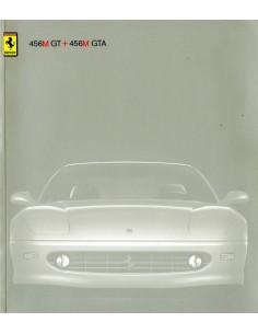 1998 FERRARI 456M GT & GTA BROCHURE 1387/98