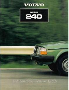 1981 VOLVO 240 SERIE PROSPEKT DEUTSCH