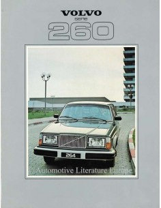1979 VOLVO 260 BROCHURE DUTCH