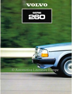 1981 VOLVO 260 SERIES BROCHURE DUTCH