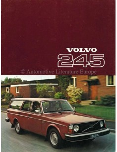 1977 VOLVO 245 BROCHURE DUTCH