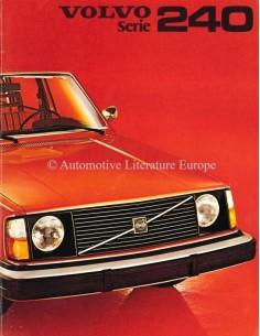 1975 VOLVO 240 PROSPEKT NIEDERLÄNDISCH