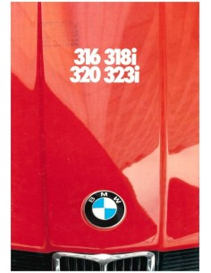 1980 BMW 3 SERIES BROCHURE GERMAN