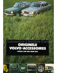 1977 VOLVO ACCESSORIES BROCHURE DUTCH