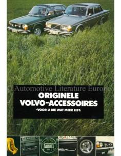 1977 VOLVO ZUBEHÖR PROSPEKT NIEDERLÄNDISCH