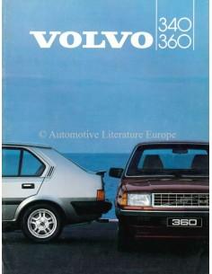 1984 VOLVO 340 / 360 PROSPEKT NIEDERLÄNDISCH