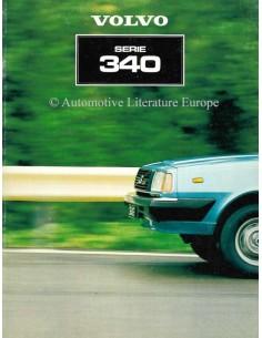 1981 VOLVO 340 BROCHURE DUTCH