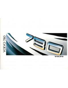 1988 VOLVO 780 PROSPEKT NIEDERLANDISCH