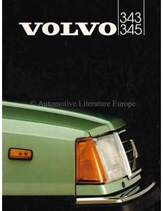 1982 VOLVO 343 / 345 PROSPEKT NIEDERLÄNDISCH