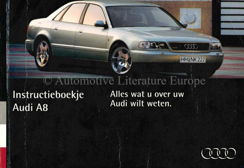 1994 audi a4 owners manual dutch rh autolit eu Audi Q5 Audi A4 Owner's Manual