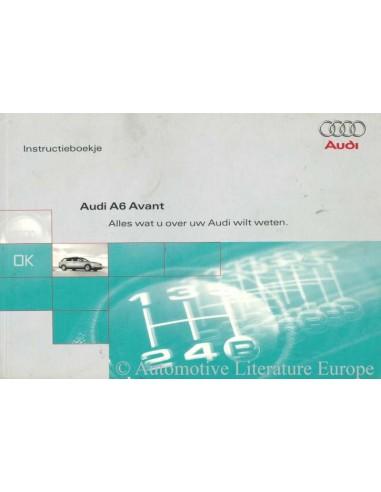 1998 audi a6 avant owner s manual handbook dutch rh autolit eu 1998 audi a6 repair manual pdf 1997 Audi A6
