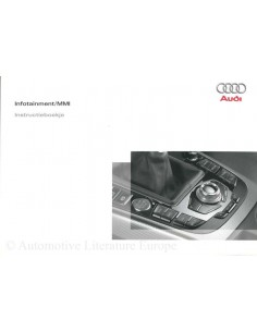 2008 AUDI OWNER'S MANUAL INFOTAINMENT MMI DUTCH