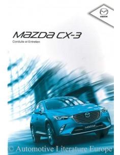 2015 MAZDA CX-3 OWNER'S MANUAL FRENCH