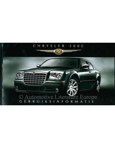2007 chrysler 300c owner s manual dutch rh autolit eu 2007 chrysler crossfire owners manual pdf 2007 chrysler crossfire owner's manual