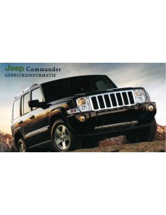 2007 JEEP COMMANDER INSTRUCTIEBOEKJE NEDERLANDS