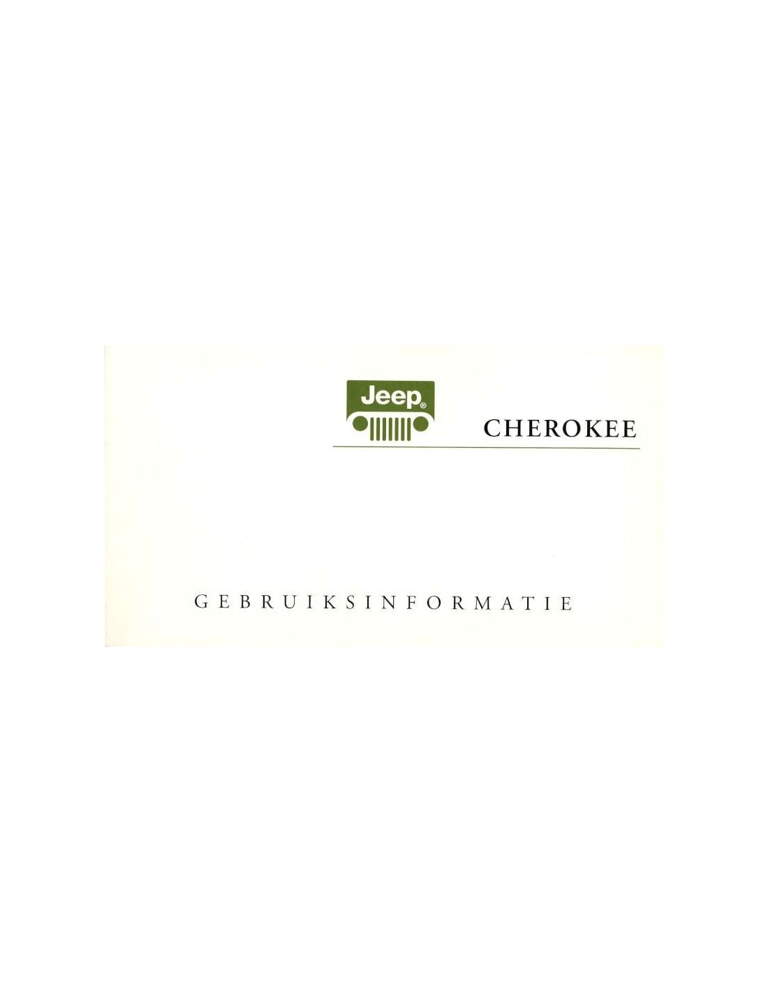 jeep cherokee owners manual 2006