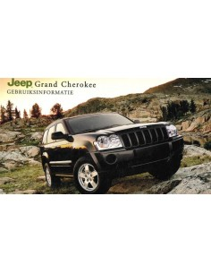 2006 JEEP GRAND CHEROKEE INSTRUCTIEBOEKJE NEDERLANDS