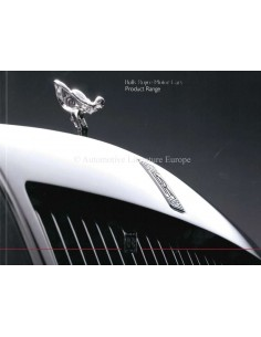 2018 ROLLS ROYCE RANGE BROCHURE ENGLISH