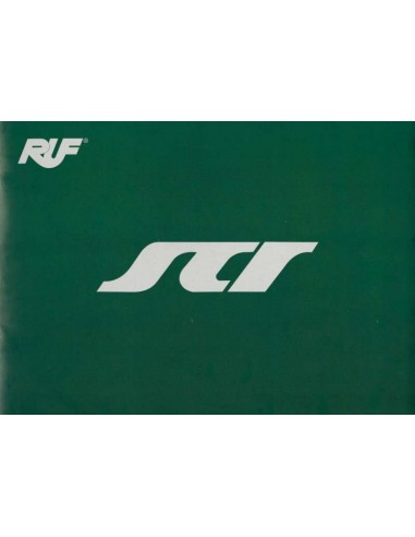 2018 RUF SCR BROCHURE GERMAN ENGLISH