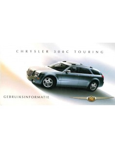 2007 CHRYSLER 300C TOURING BETRIEBSANLEITUNG NIEDERLÄNDISCH
