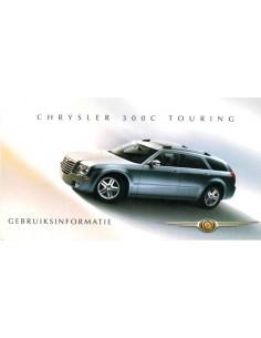 2007 CHRYSLER 300C TOURING INSTRUCTIEBOEKJE NEDERLANDS