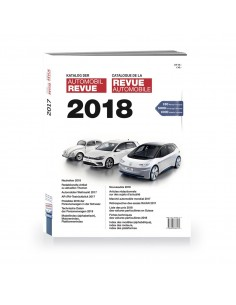 2018 AUTOMOBIL REVUE YEARBOOK GERMAN FRENCH