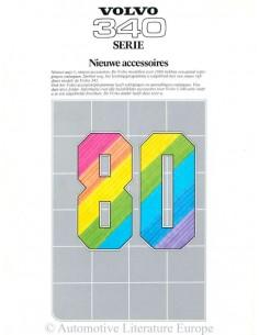 1980 VOLVO 340 ZUBEHÖR PROSPEKT NIEDERLÄNDISCH