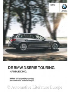 2015 BMW 3 SERIES TOURING OWNER'S MANUAL DUTCH